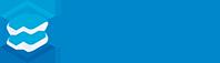 Usługi mycia i dezynfekcji w przemyśle i obiektach komercyjnych. Logo
